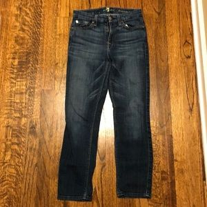 7 for all mankind kimmie crop